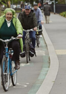 Information about walkers and cyclists