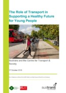 Role of healthy transport in providing a healthy future for young people